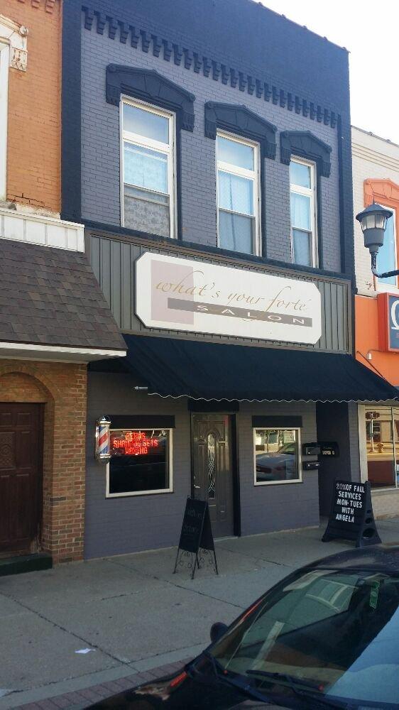 What's Your Forte' Salon: 135 S Cochran Ave, Charlotte, MI