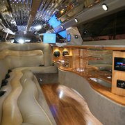 Now offering Hearse transportation Photo of Escort Limousine - Wilmington,  DE, United States. Luxurious interior of our