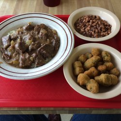 Photo Of Angie S Country Kitchen Houston Tx United States Beef Tips Over