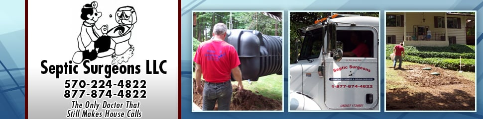 Septic Surgeon: 57 Lester Rd, Equinunk, PA