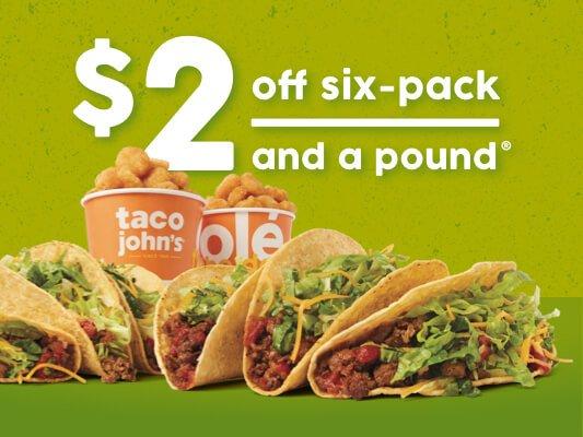 Taco John's: 400 Oasis Rd, Black River Falls, WI