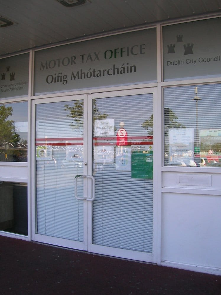 Rathfarnham motor tax office government public for Oklahoma tax commission motor vehicle division phone number