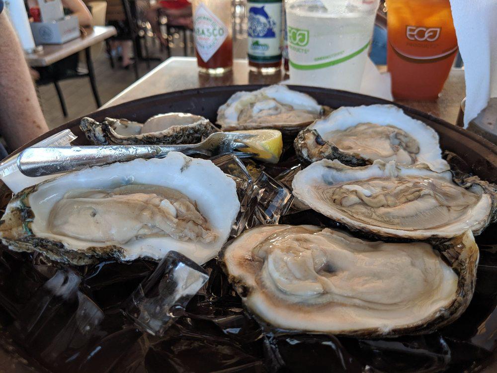 Anna Maria Oyster Bar on the Pier: 200 Bridge St, Bradenton Beach, FL