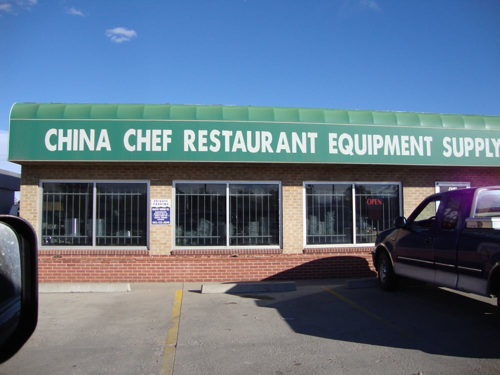 China chef restaurant equipment supply denver november