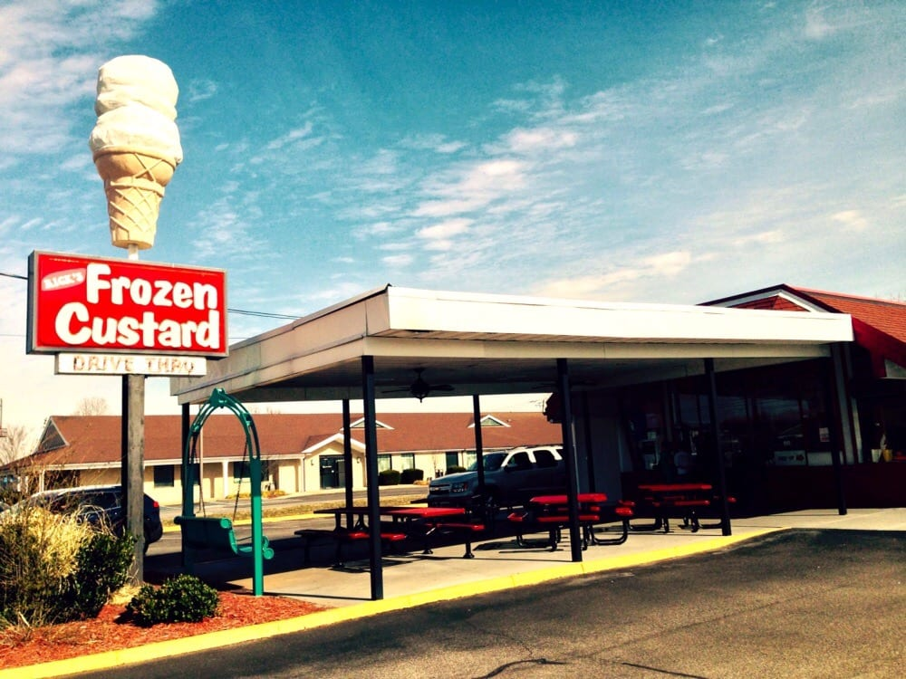 Rick's Frozen Custard: 2829 Airline Blvd, Portsmouth, VA