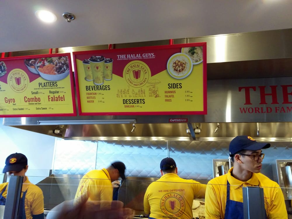 Halal Guys Long Beach Review