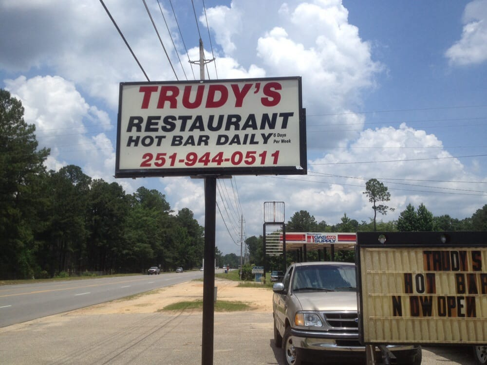 Trudy's: 7160 Highway 43, McIntosh, AL
