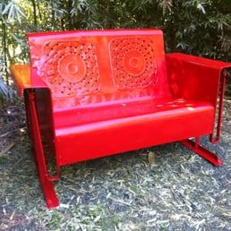 Photo Of Austin Pallet Furniture   Austin, TX, United States. Restored  Vintage Glider