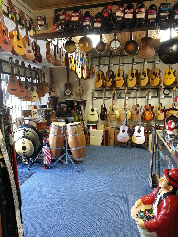 Wonderful selection of ukuleles, guitars, drums and more! - Yelp