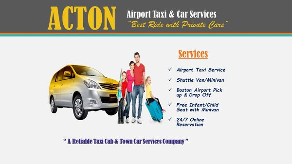 Acton Airport Taxi and Car Services - Town Car Service