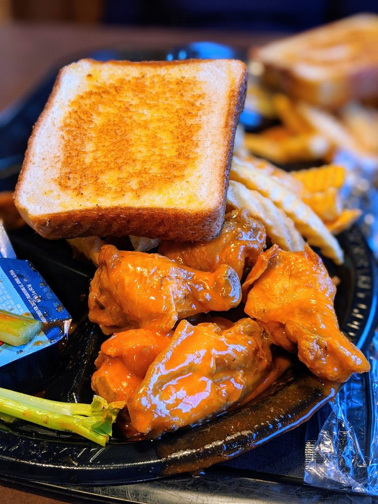Zaxby S Chicken Fingers Buffalo Wings Gift Card Atlanta Ga Giftly Chicken fingers and wings served with crinkle fries, sauces, and texas toast. zaxby s chicken fingers buffalo wings