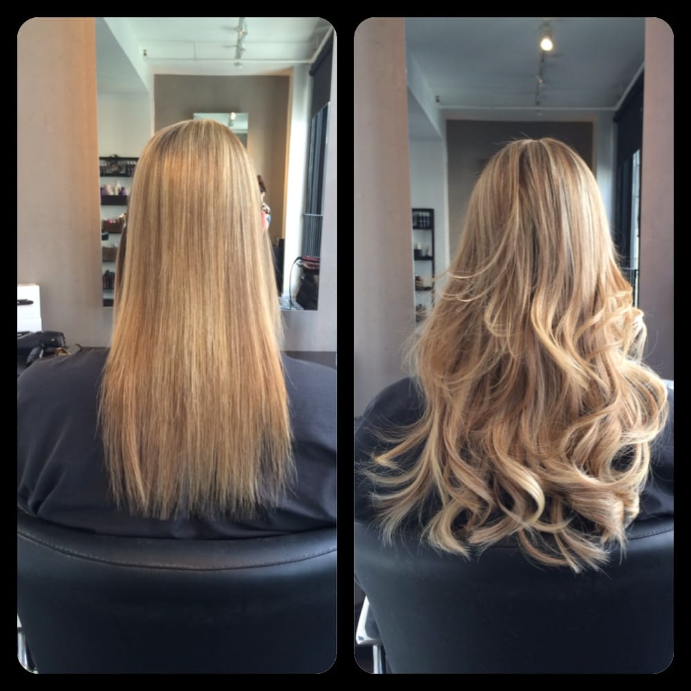 Great Lengths Hair Extensions Before And After By Lauren Mae Haggard