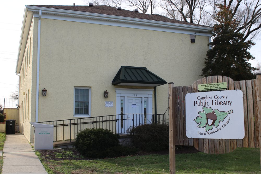 Caroline County Public Library - Federalsburg Branch: 123 Morris Ave, Federalsburg, MD