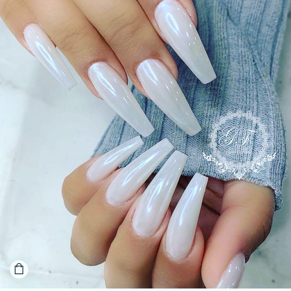 Magic White Chrome Powder with milk white color - Yelp