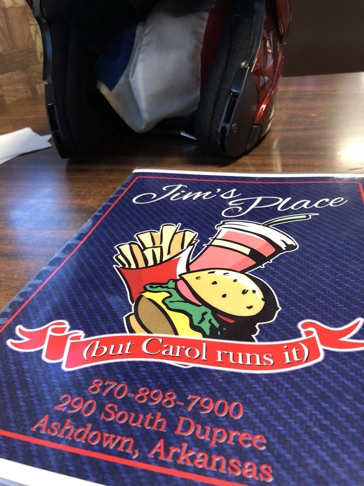 Jim's Place: 290 S Dupree St, Ashdown, AR