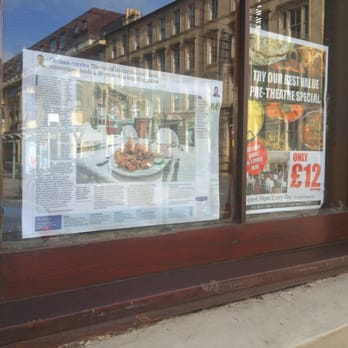 Indian Restaurant Granville Street Glasgow