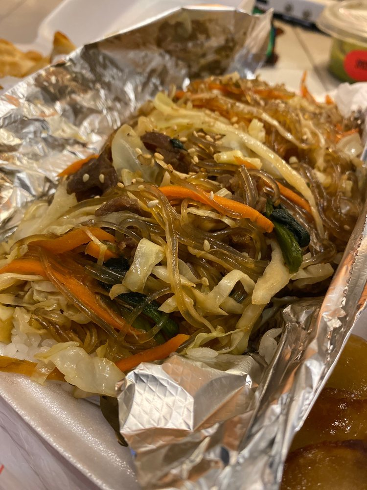 Food from Spoon Fusion Korea Oh K-Dog