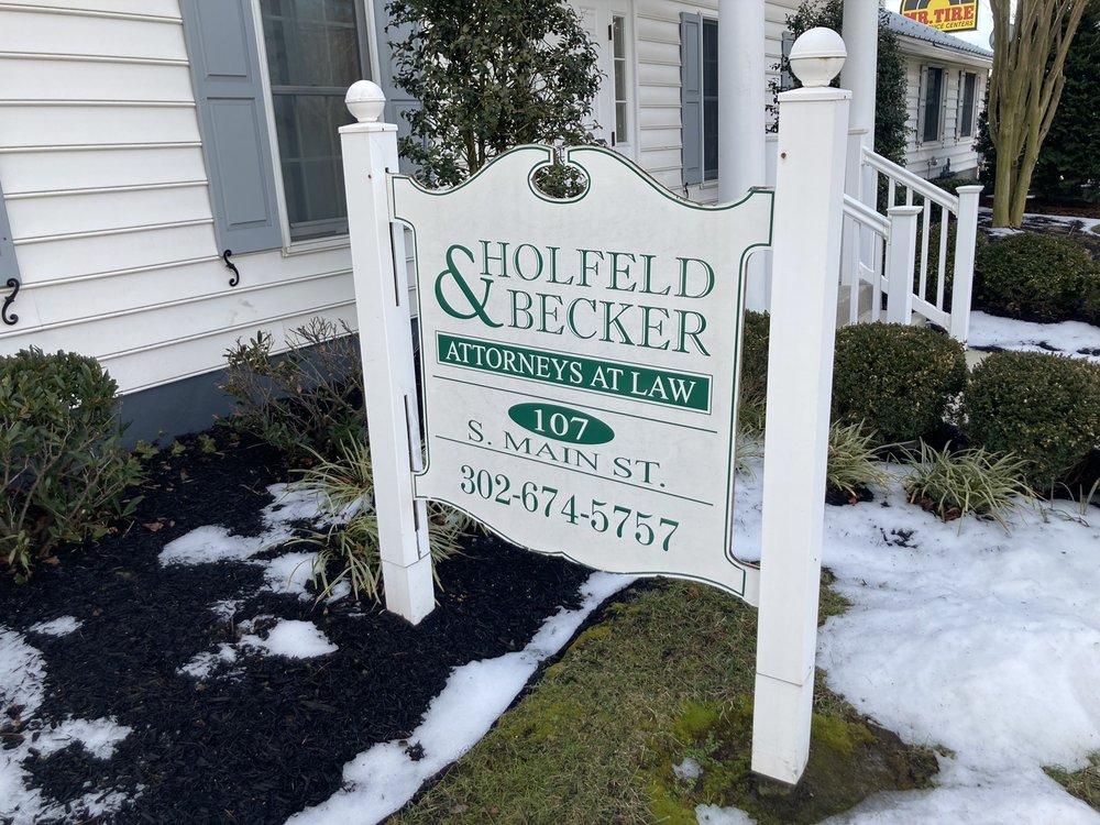 Holfeld & Becker Attorneys At Law: 107 S Main St, Camden, DE