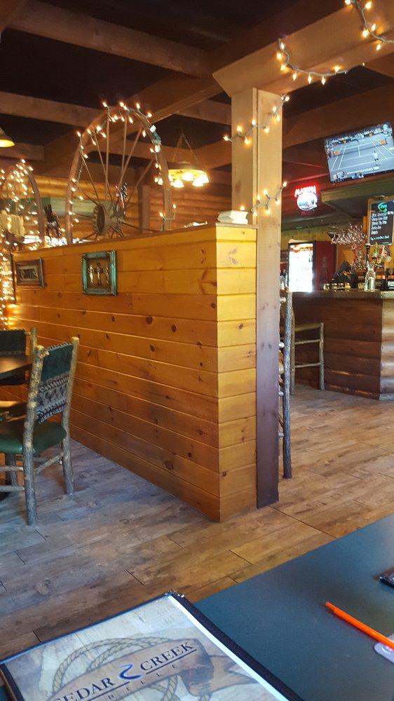 Cedar Creek Grille: 34579 State Hwy 38, Grand Rapids, MN