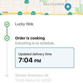 Food Delivery Paramount Ca