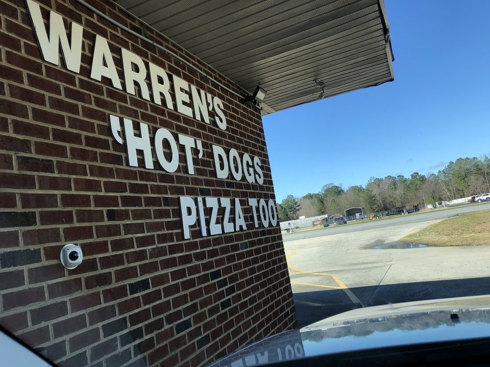 Warren's Hot Dogs: 1938 N Memorial Dr, Greenville, NC