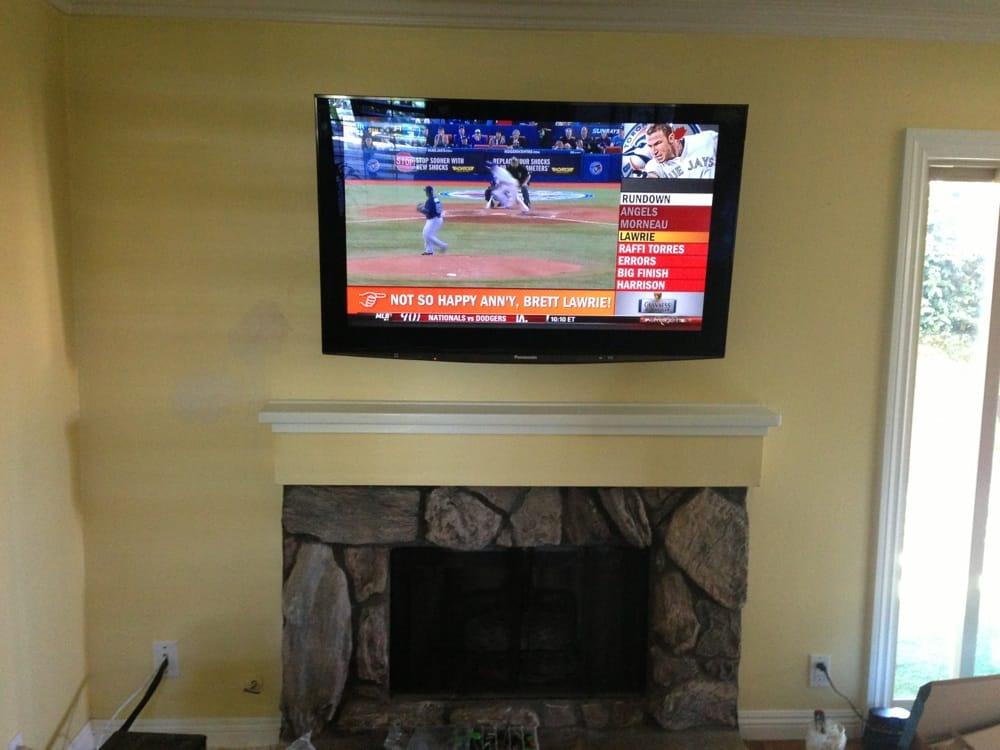 Plasma TV Install