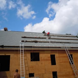 Good Photo Of On Top Roofing   Worcester, MA, United States. New Roof And