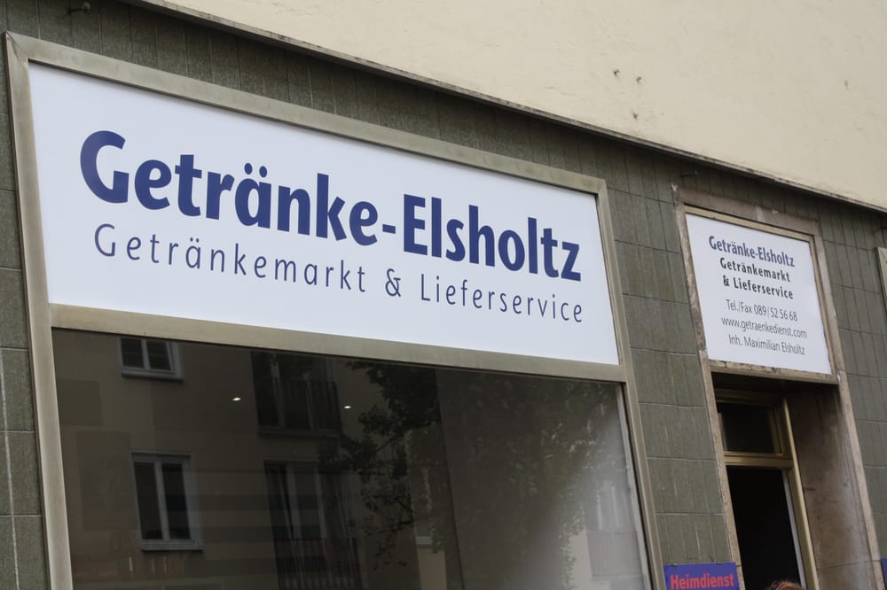 Getränke Elsholtz - Getränkemarkt - Schwindstr. 32, Maxvorstadt ...
