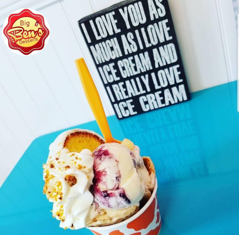 Big Ben's Dessert and Ice Cream: 297 Spartanburg Hwy, Lyman, SC