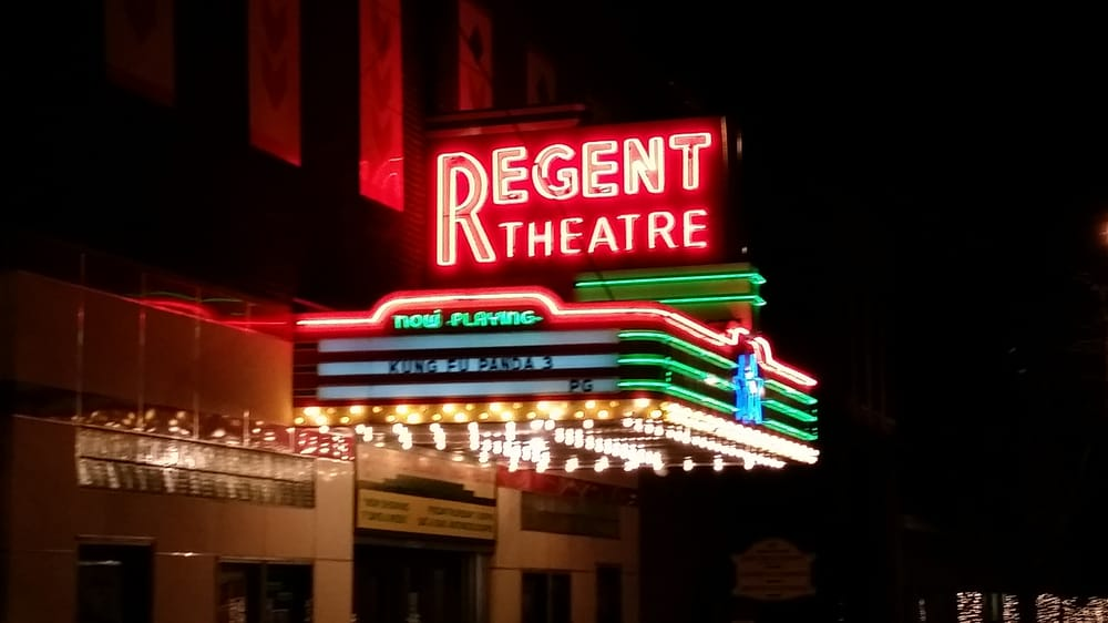 Regent Theatre: 211 Trowbridge St, Allegan, MI
