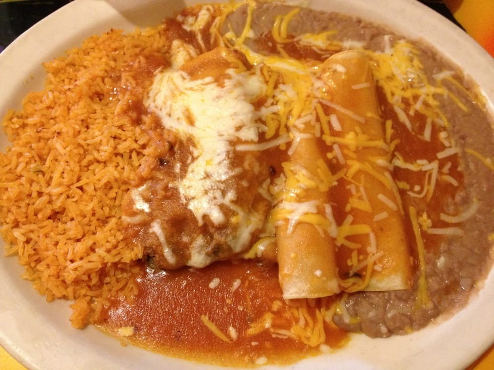 Two cheese enchilada and chile relleno yelp for Acapulco loco authentic mexican cuisine