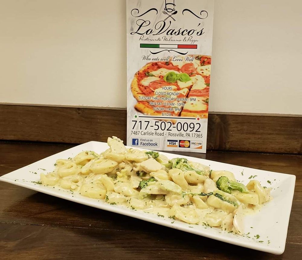 Lo Vasco's Pizza: 7487 Carlisle Rd, Wellsville, PA