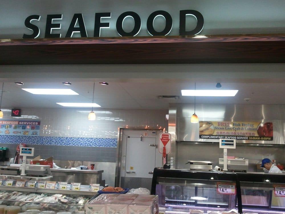 Seafood section yelp for Fish market sacramento