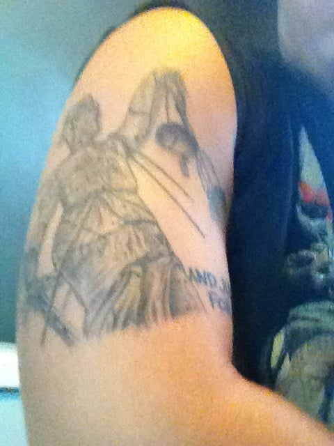 My Tattoo Of Metallica And Justice For All Album Cover Yelp