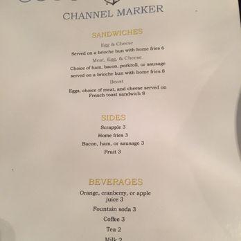 Channel Marker Cafe Nj