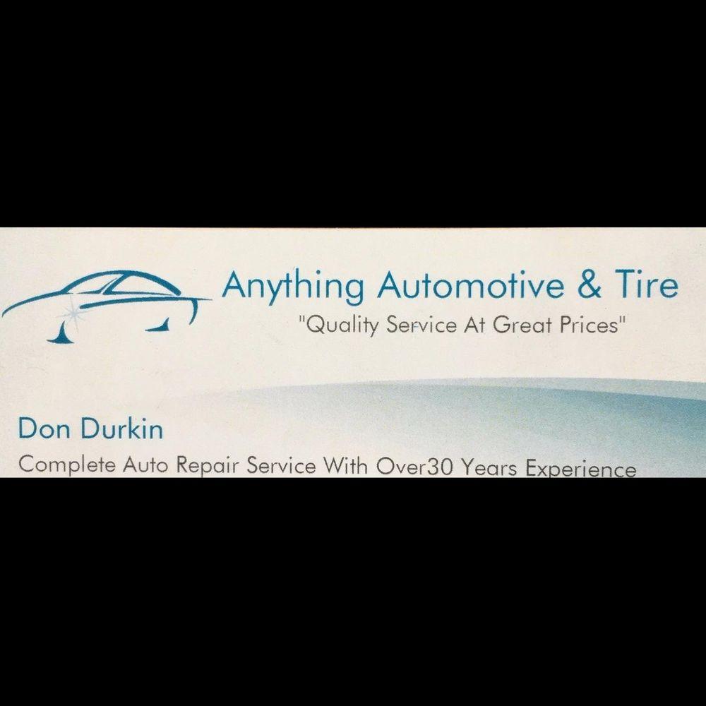 Anything Automotive & Tire: 369 W Main St, Amsterdam, NY