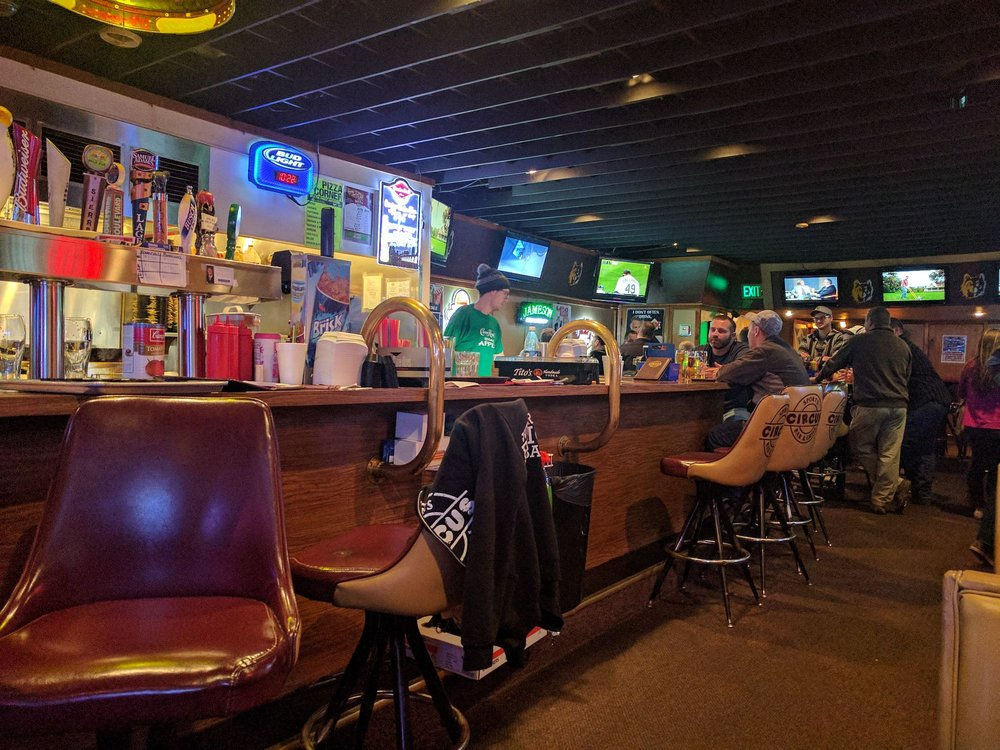 Circus Sports Bar & Grill: 14 3rd Ave SE, Aberdeen, SD
