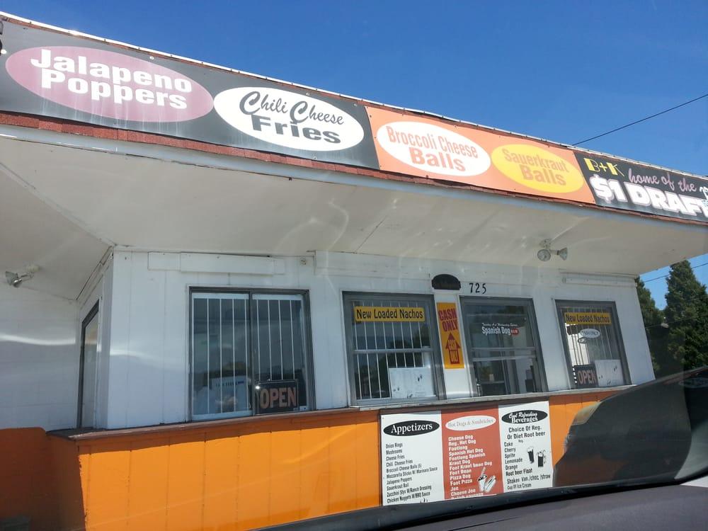 B & K Drive In: 725 E Wilbeth Rd, Akron, OH