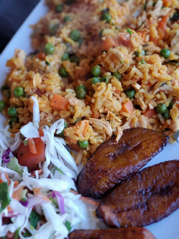 Food from La Colombiana Restaurante