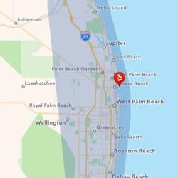 Boynton Beach Florida Map.Singer Island Fl Map Island