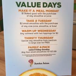 photo of jamba juice davis ca united states value day deals