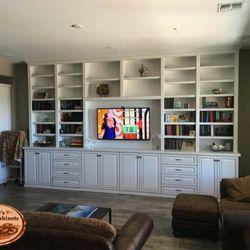 Elegant Photo Of Chrisu0027s Custom Cabinets   Phoenix, AZ, United States. White Media  Center