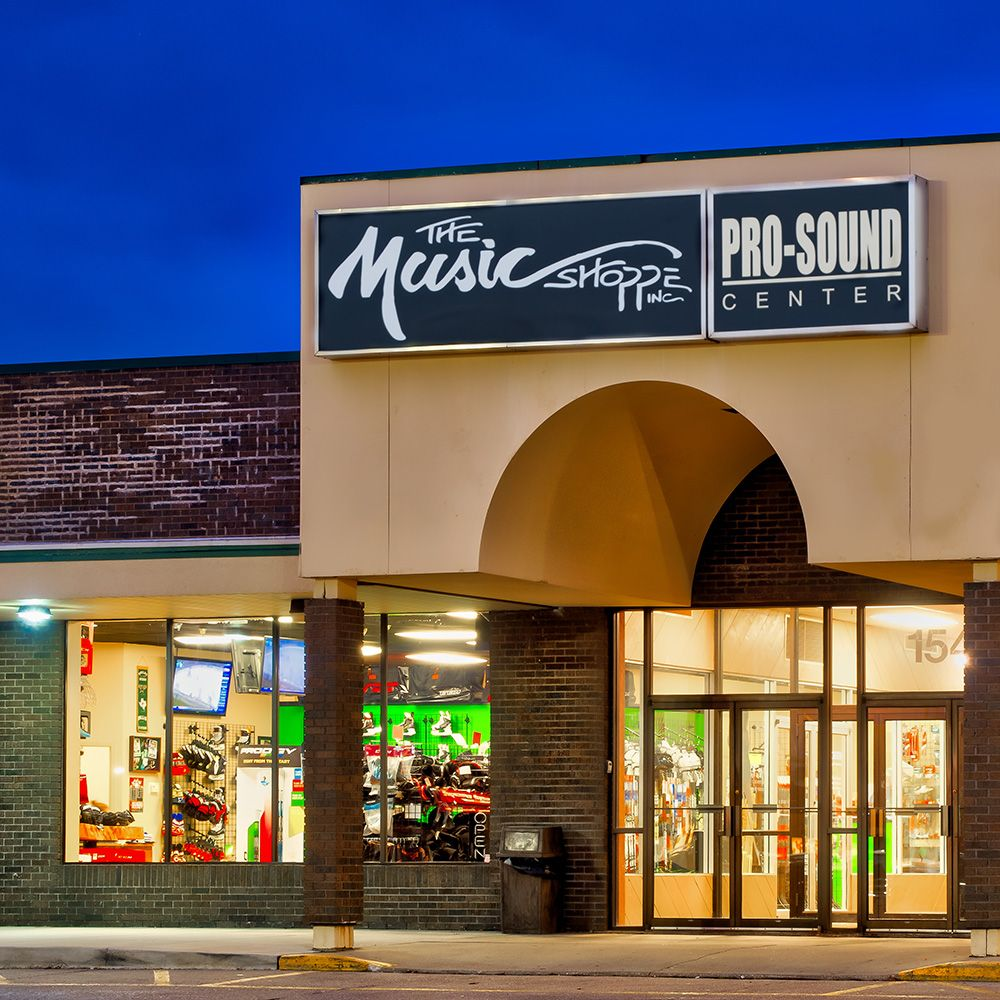 The Music Shoppe: 1540 E College Ave, Normal, IL