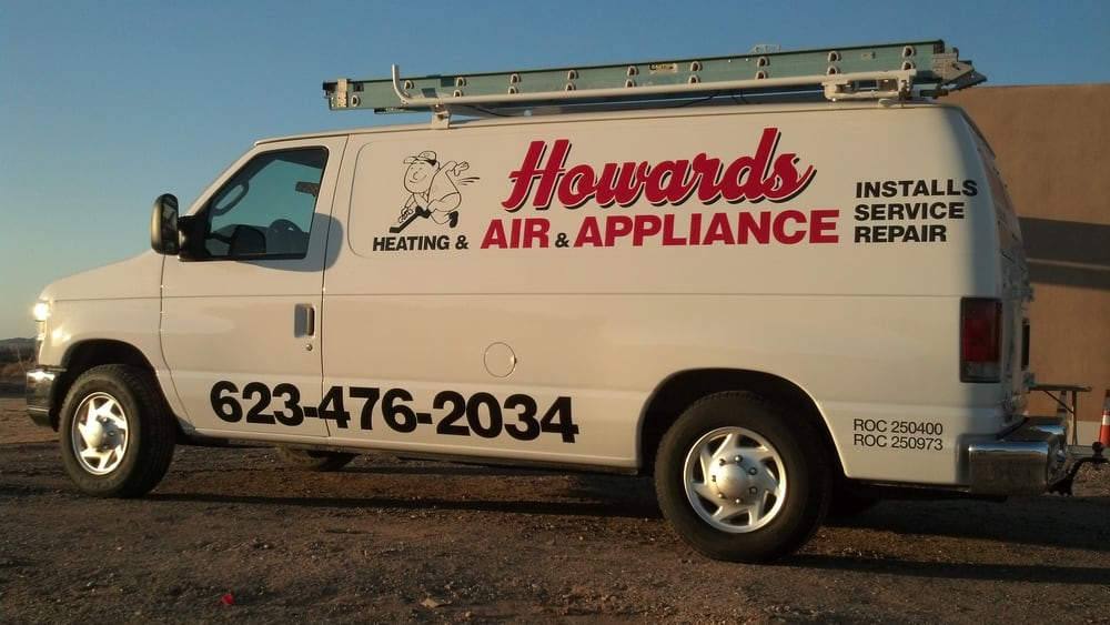 Howards Heating and Air and Appliance Repair: 8612 S 204th Dr, Buckeye, AZ