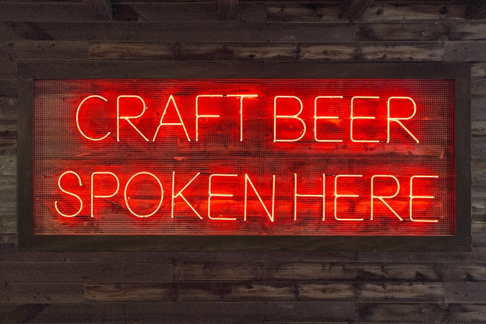 Craft beer spoken here yelp for Craft beer pubs near me