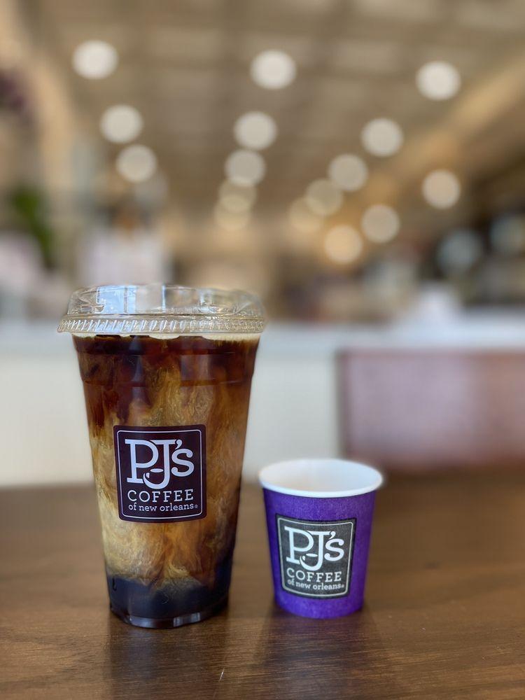 PJ's Coffee: 900 N Industrial Blvd, Euless, TX