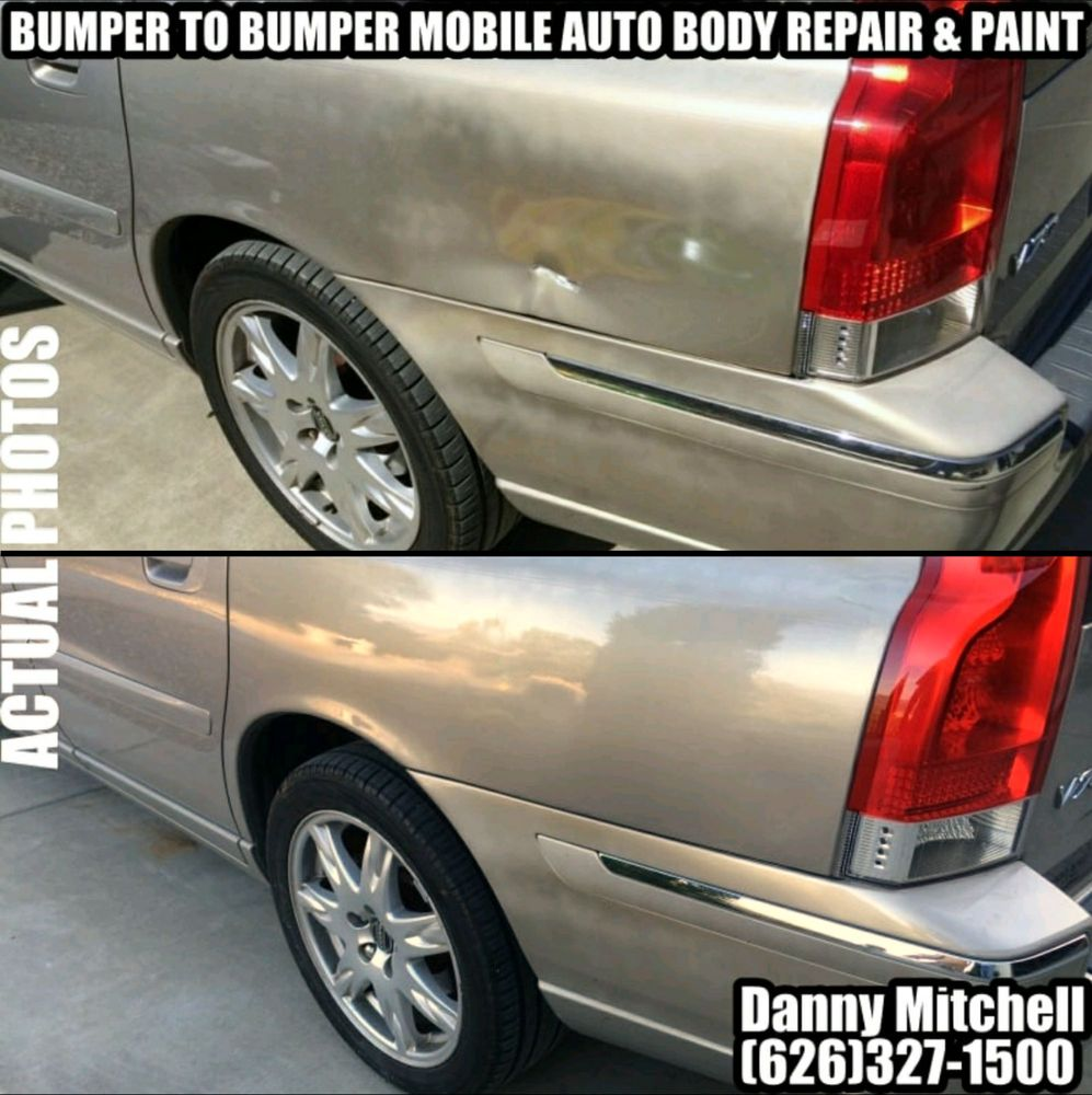 Bumper to bumper mobile auto body repair and paint 14 for Mobile auto painting