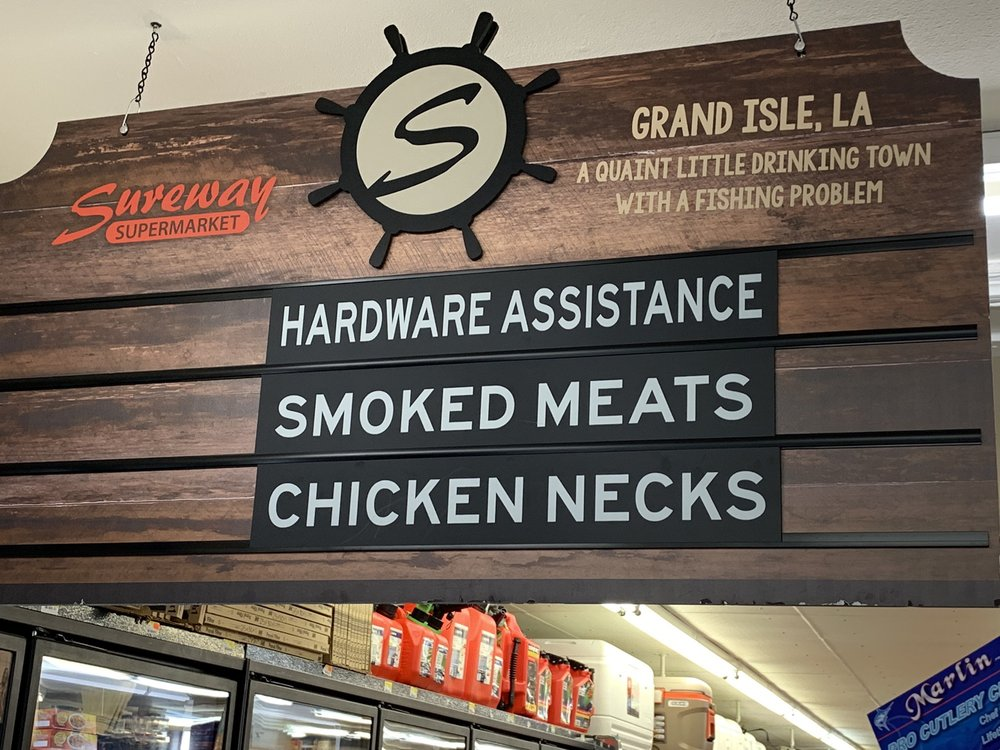 Sureway Supermarket: 3209 Highway 1, Grand Isle, LA
