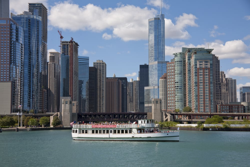 Chicago Architecture Foundation River Cruise - First Lady: 112 E Wacker Dr, Chicago, IL