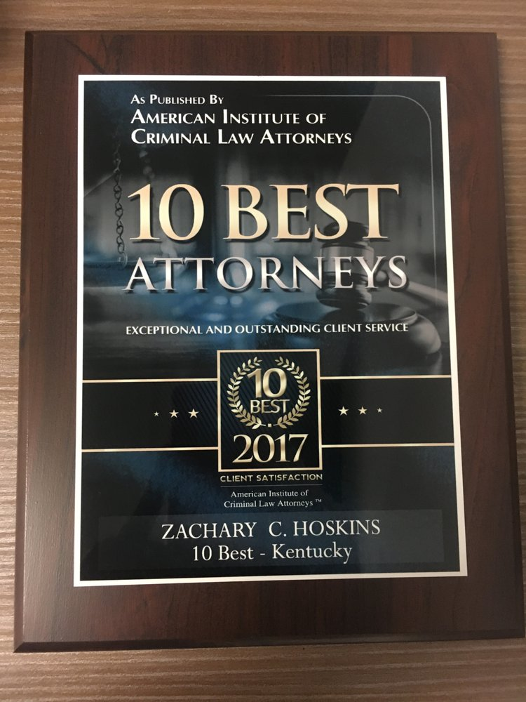 Zachary Hoskins Attorney & Counselor at Law: 9850 Von Allmen Ct Ste 201, Louisville, KY